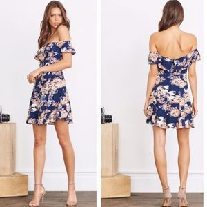 NWT Lovers + Friends Vineyard Floral Dress